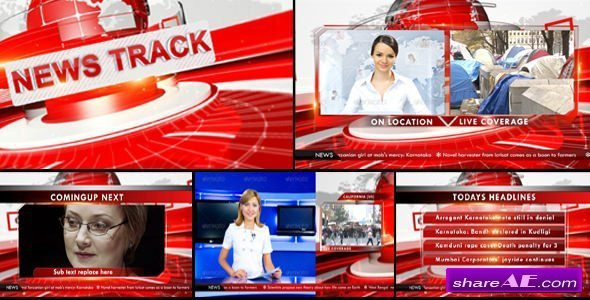Videohive Broadcast News Package 14812256