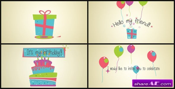 Videohive Invitation Card
