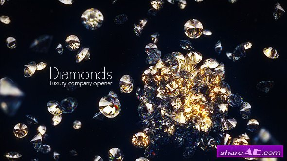 Videohive Diamonds - Luxury Company Opener