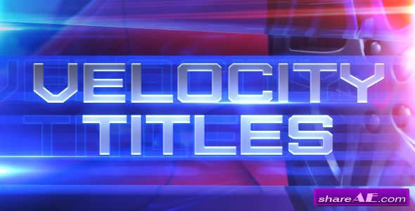 Videohive Velocity Titles