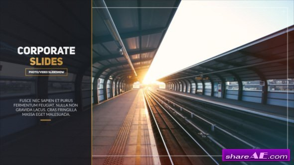 Videohive Corporate Slides - Photo/Video Slideshow