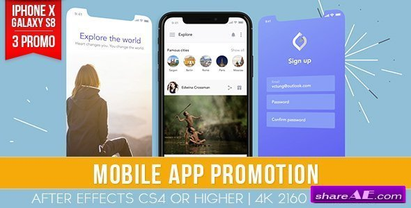 Videohive Mobile App Promotion
