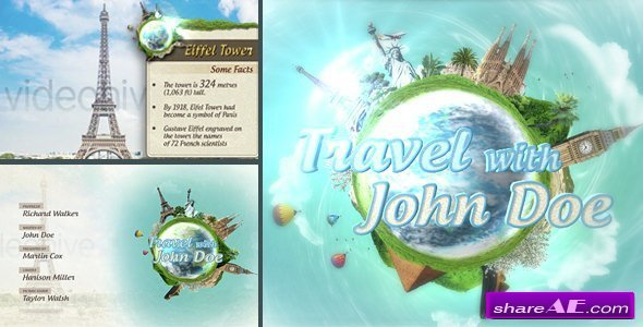 Videohive Travel Show Pack