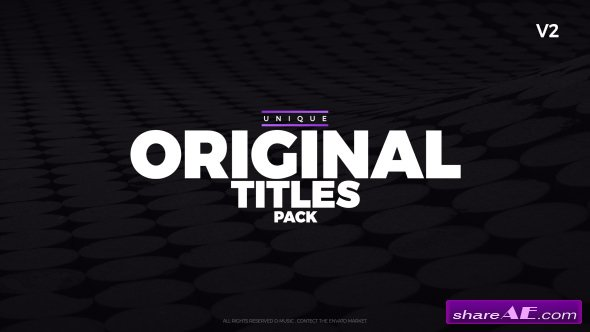 Videohive This is Titles