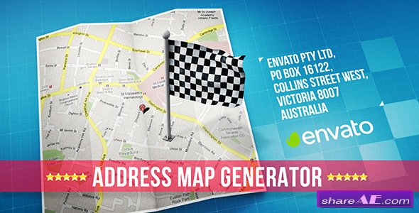 Videohive Map