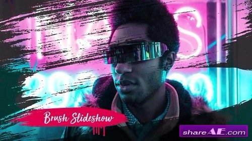 Brush Slideshow - Premiere Pro Templates