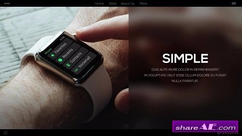 Simple Promo - Premiere Pro Templates