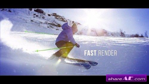 Slideshow - Cinematic Parallax - Premiere Pro Templates