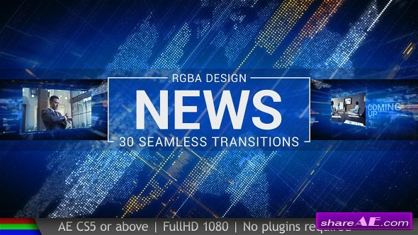 Videohive News Transitions