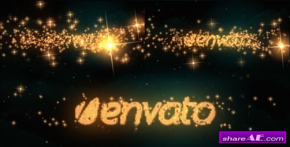 Videohive Logo & Text Intro - Glitters
