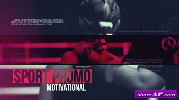 Videohive Sport Promo Motivational