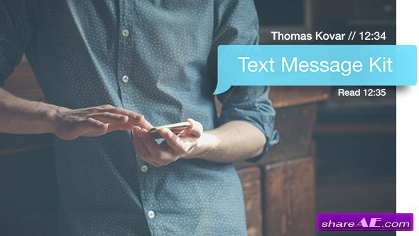 Videohive Text Message Kit v2.2 - After Effects Templates