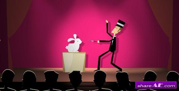Videohive Crazy Magician Logo