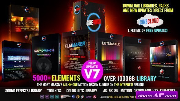 Videohive CINEPUNCH Master Suite V7.0
