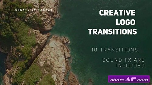 Creative Logo Transitions - Premiere Pro Templates