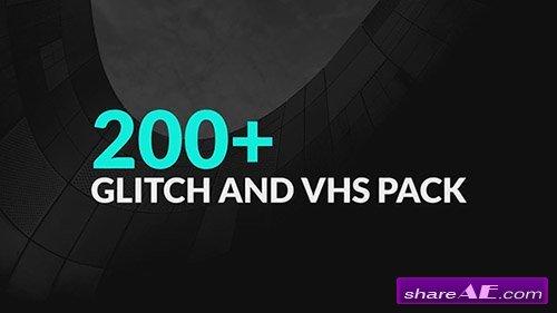 200+ Glitch Pack - Premiere Pro Templates