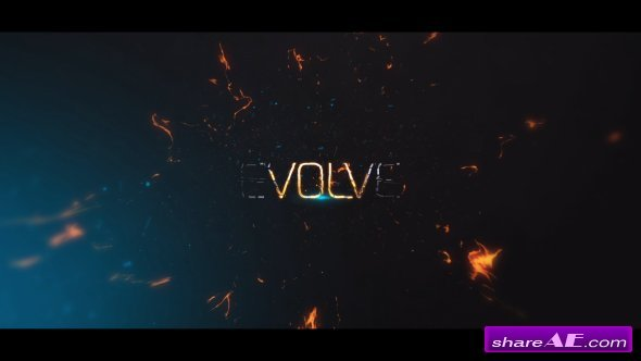 Videohive Evolve - Powerful Cinematic Titles