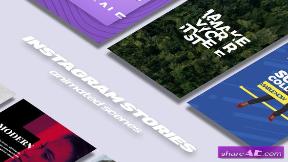 Videohive Instagram Stories V 1 » free after effects