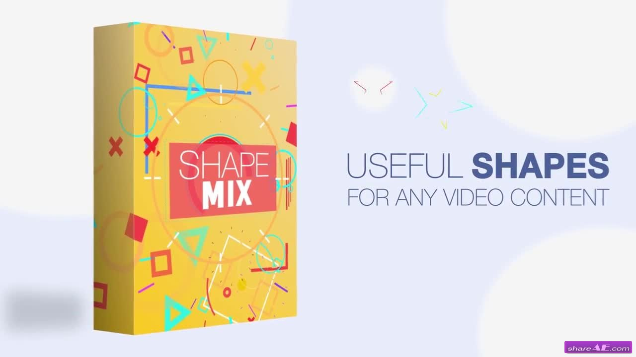 Shape Mix - After Effects Template (Motion Array)