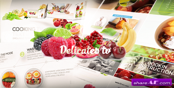 Videohive Cooking TV - Clean Broadcast Pack