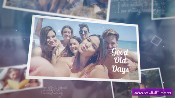 Videohive Good Old Days