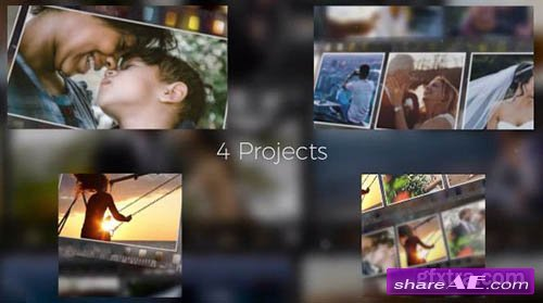 3D Photo Slideshow - Premiere Pro Templates