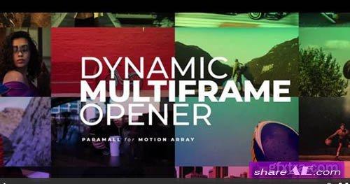 Dynamic Multiframe Opener - Premiere Pro Templates