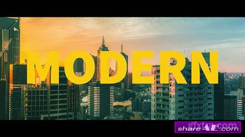 Modern Urban Slideshow - Premiere Pro Templates