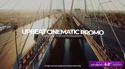 Upbeat Cinematic Slideshow - Premiere Pro Templates