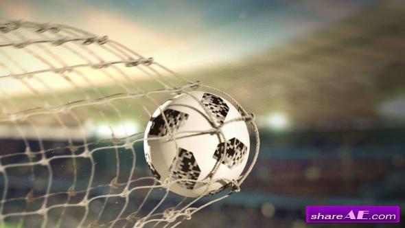 Videohive Soccer Scoring Logo Reveal
