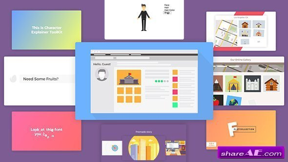 Videohive Company Explainer l Flat Collection