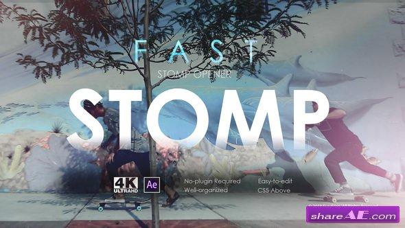 Videohive Fast Stomp Opener 21567069