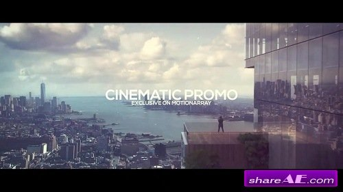 Cinematic Promo - Premiere Pro Templates