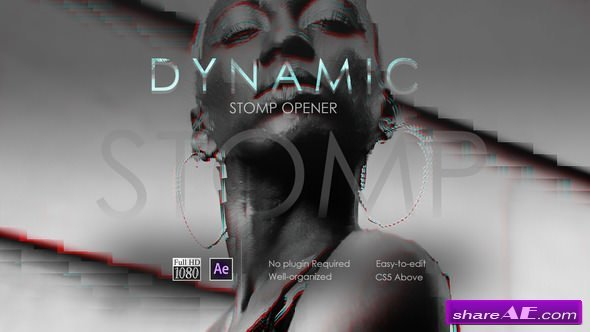 Videohive Dynamic Stomp Opener 21601936