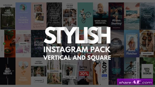 Videohive Instagram Stories Pack | Vertical and Square