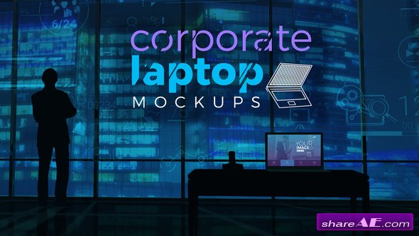 Videohive Corporate Laptop Mockups