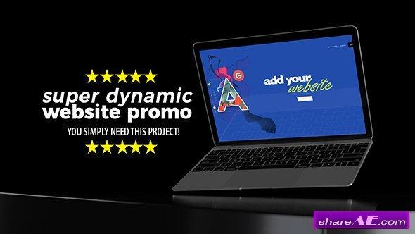 Videohive Super Dynamic Website Promo