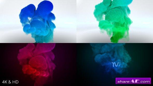 Videohive Color Smoke Logo Reveal 3