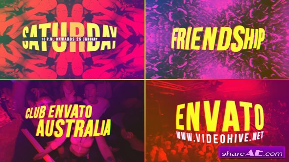 Videohive Night Club Opener