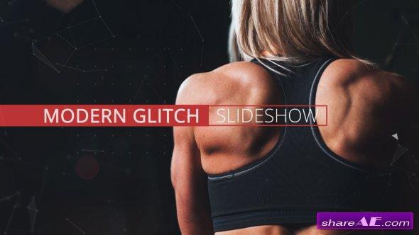 Videohive Modern Glitch Slideshow