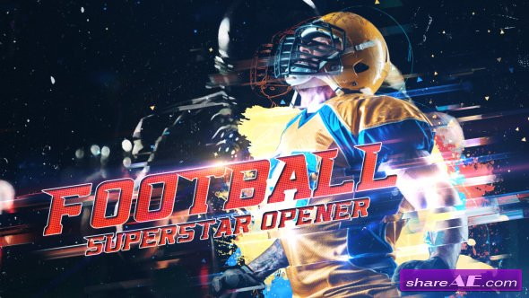 Videohive Football Superstar Opener