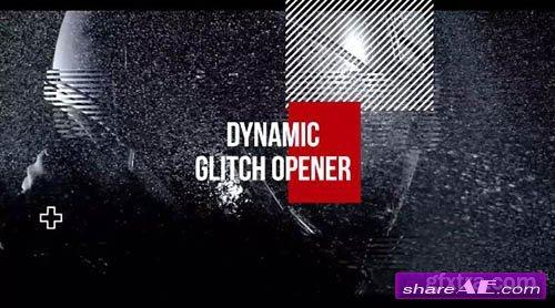 Dynamic Glitch Opener - Premiere Pro Templates
