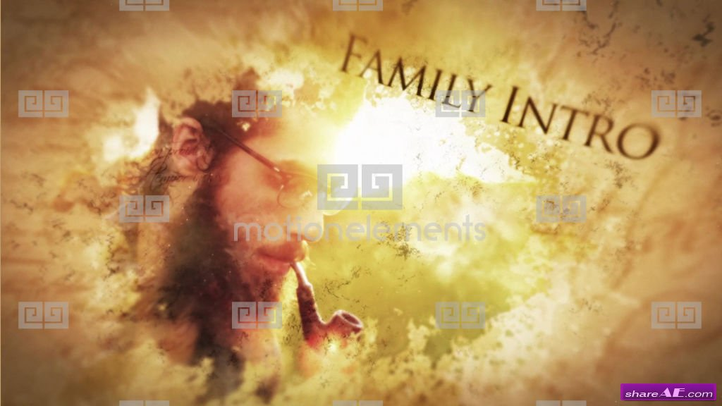 Parallax Ink Flow Slideshow - After Effects Templates