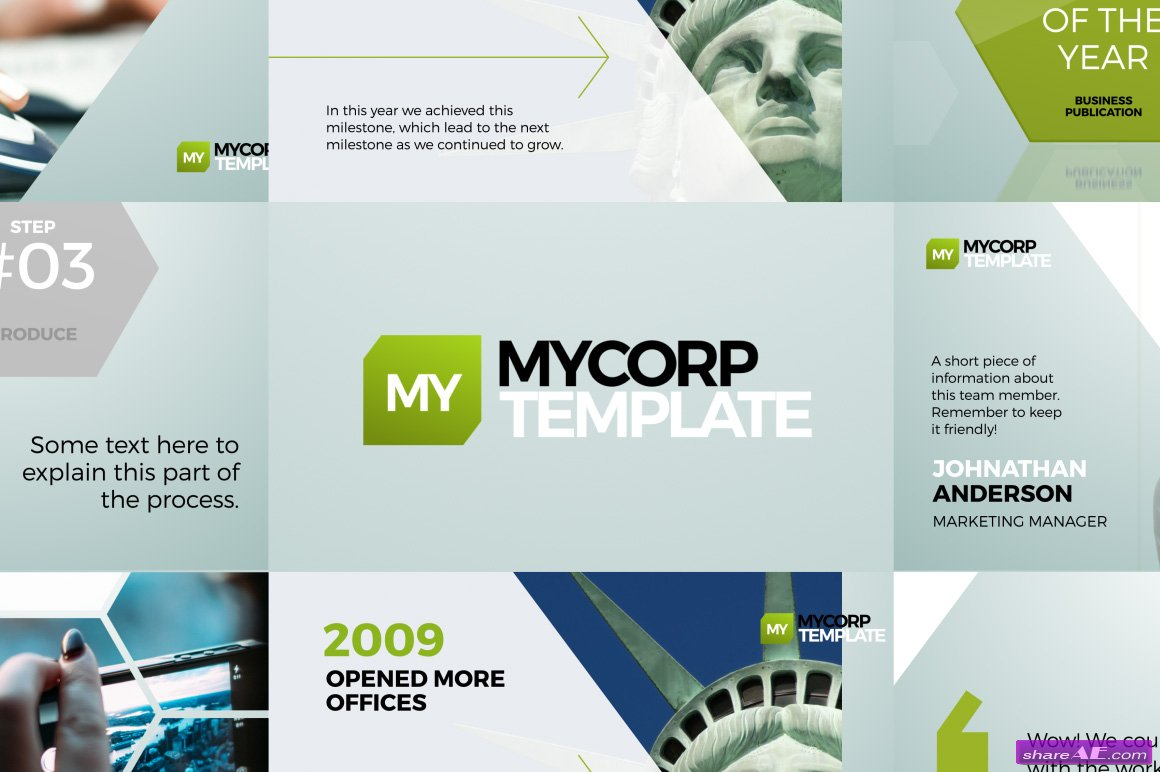 MyCorp Business Promo - After Effects Templates
