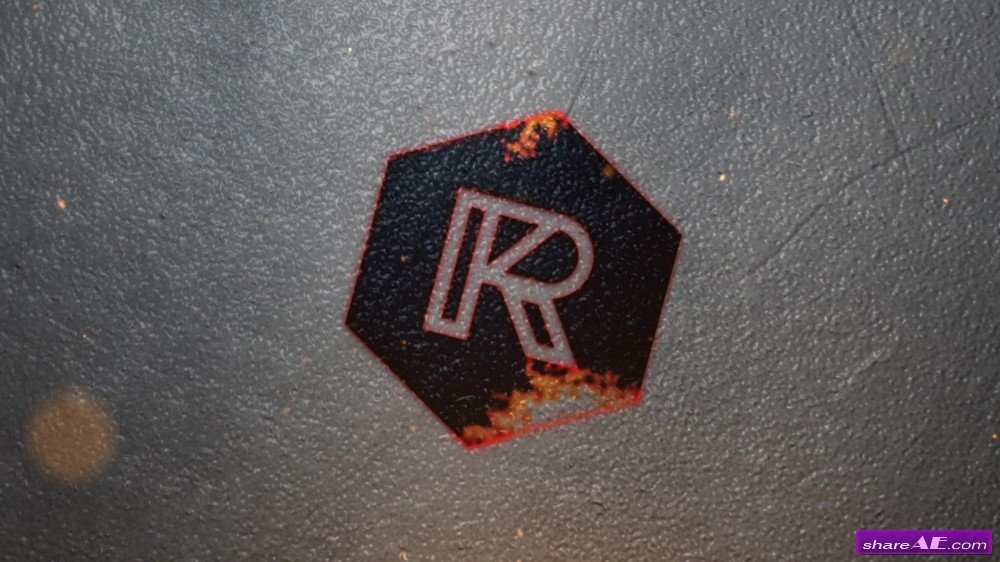 Ember - Burning Logo Reveal - After Effects Template (RocketStock)