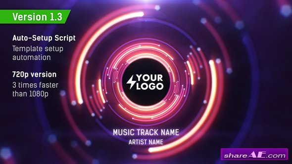Videohive Audio React Tunnel Music Visualizer v1.3