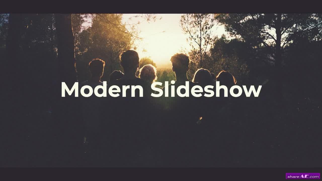 Modern Slideshow - Premiere Pro Templates