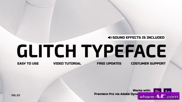 Videohive Glitch Titles 21095888