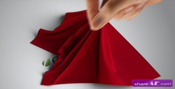 Videohive Silk Shawl Logo Reveal