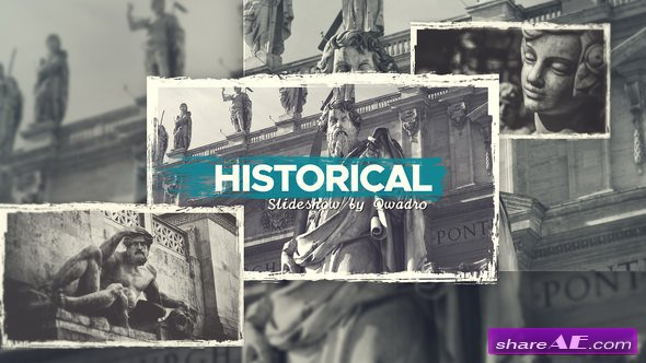Videohive Historical Vintage Documentary Slideshow